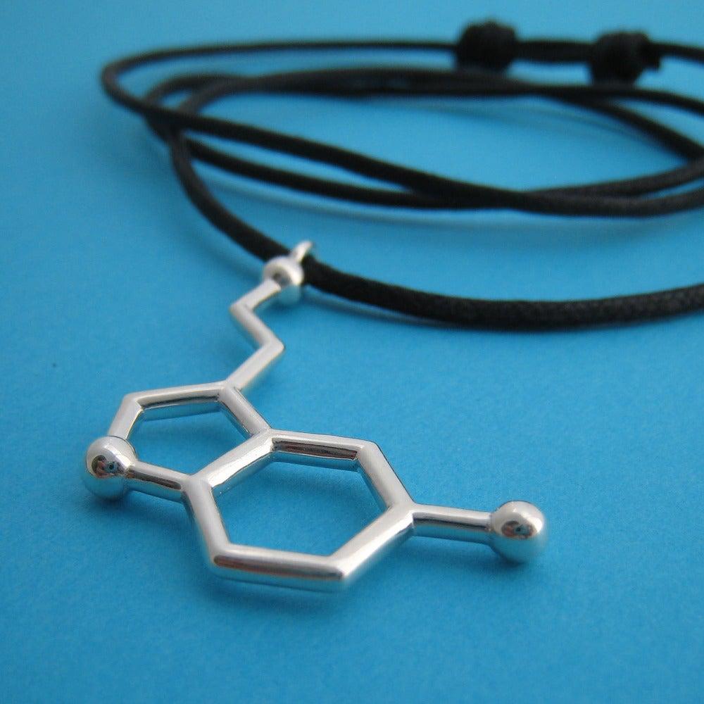 Image of serotonin dangling necklace