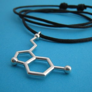 Image of serotonin dangling necklace