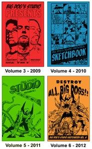 Image of Big Dog's Studio Sketchbook Single - SKETCHED Edition