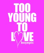 Image of Too Young To Love Tee - Pink