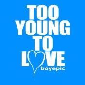 Image of Too Young To Love Tee - Blue