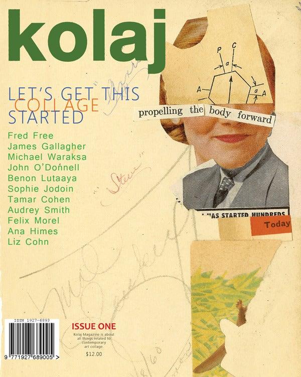 Image of Kolaj Magazine – Issue One