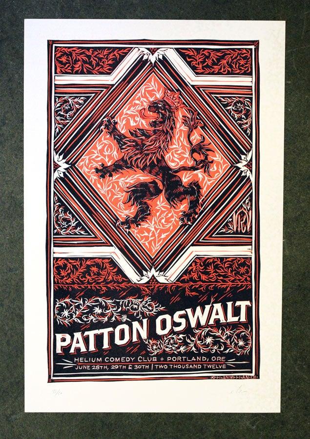 Image of Patton Oswalt / Portland 2012