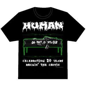 "Image of Human - 20th Anniversary ""Rockin' The Coffin"" tee"