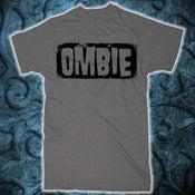 Image of Classic OMBIE Logo T-Shirt (Dark Gray) - Black Print
