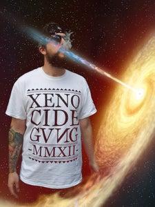 Image of XENO CIDE GVNG White Tee
