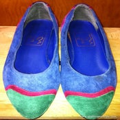 Image of The Touch of Nina Suede Flats - 7 Narrow