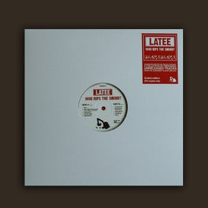 Image of DWG013 - Latee 'Who Rips The Sound?' E.P. (black vinyl)