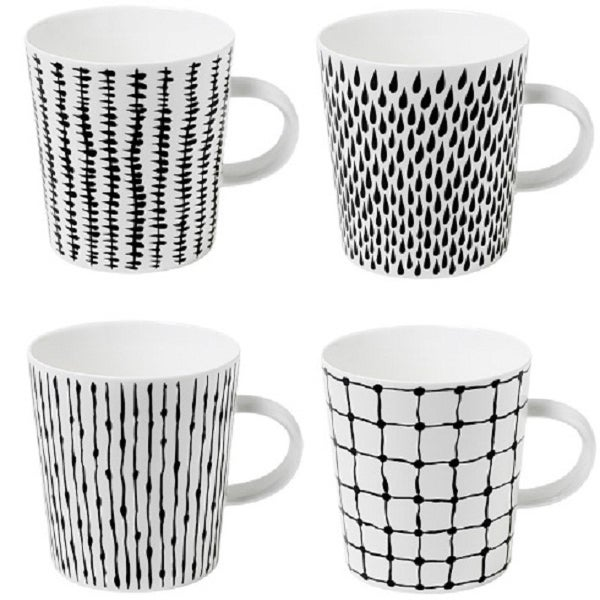 "Image of ""Bono"" Mugs (set of 4)"