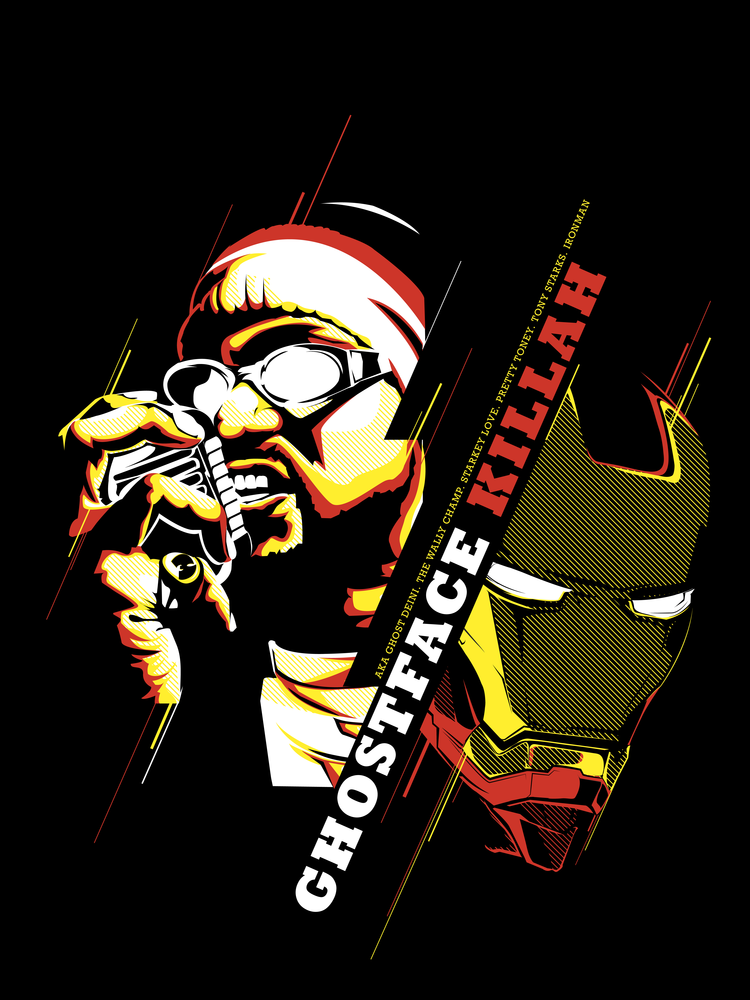 Image of Ghostface X Ironman