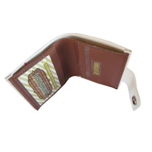 Image of College) Bifold Wallet With Snap (Plus Zipper)