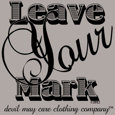 Image of Journal Entry No. 373 (Leave Your Mark)