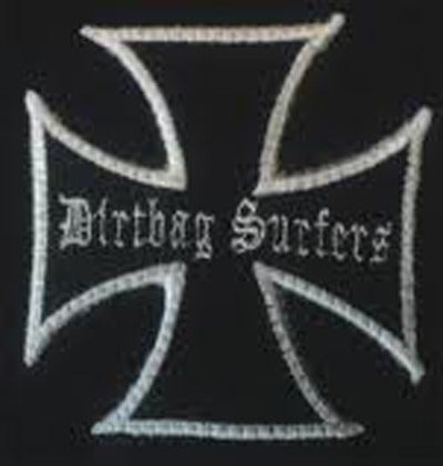 Image of Dirtbag Surfers Embroidered  Patch