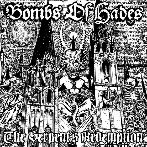 "Image of BOMBS OF HADES ""The Serpent's Redemption"" CD"