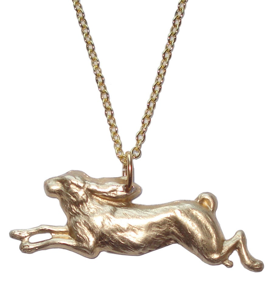 Image of Hare necklace