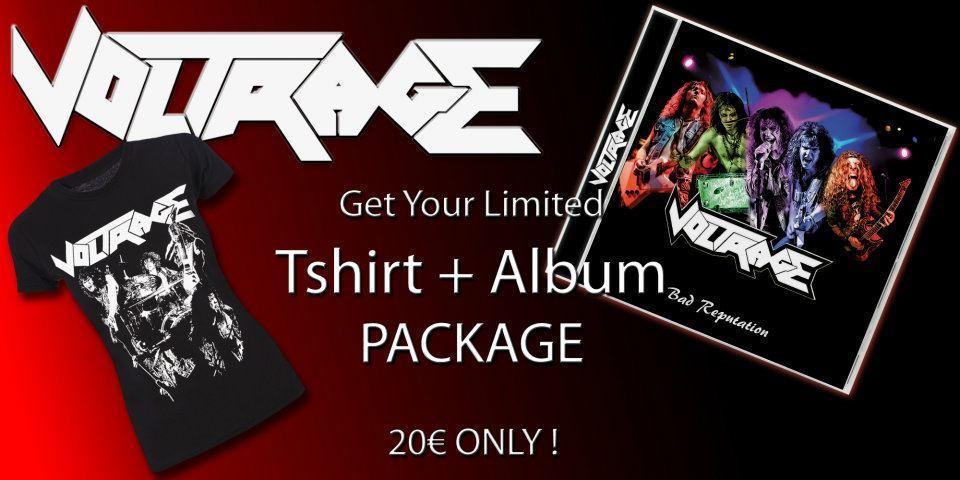 Image of Pack CD + Shirt