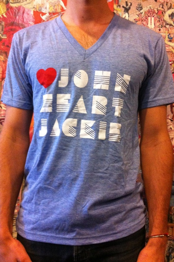 Image of 80's Heart T-Shirt | V-Neck