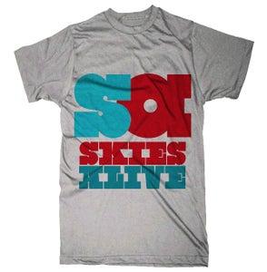 Image of Grey SA shirt (w/ Free EP!)