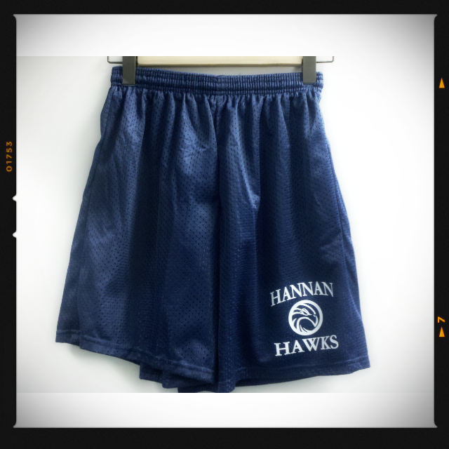 "Image of Hannan 9"" PE Shorts"