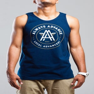 Image of *SOLD OUT* Always Advance ICON - Navy Tank