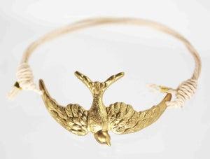 Image of medium swallow friendship bracelet