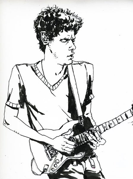 Image of John Mayer Original Drawing