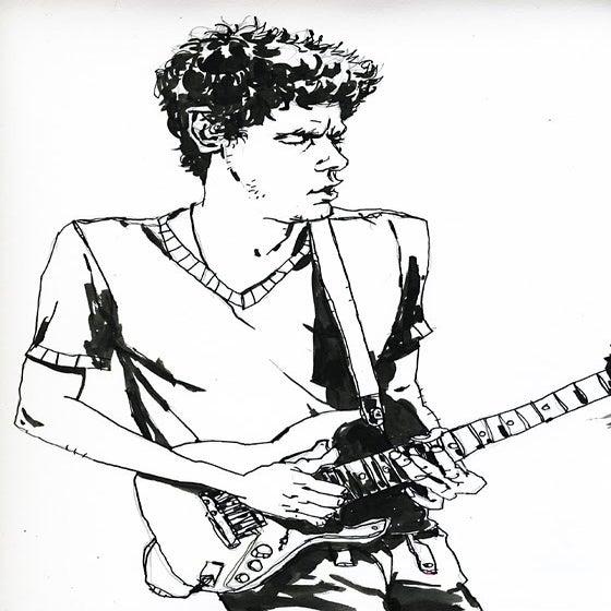 Image of John Mayer Original Drawing
