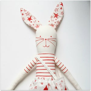 Image of Make your own Paris rabbit red