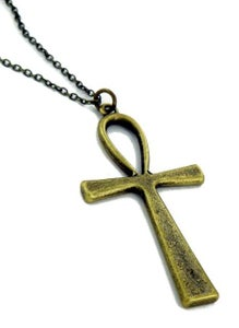 Image of Ankh Necklace - Colour Options Available