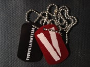Image of Dog Tag Necklace