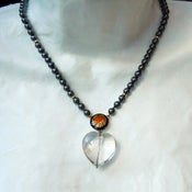 Image of Heart Drop Necklace