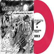 "Image of The Catastrophe / Vipers 7"" Split (Hot Pink Vinyl) ltd.250 Hand-Numbered DOWNLOAD CARD"