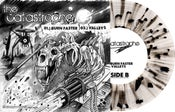 "Image of The Catastrophe / Vipers 7"" Split (Clear w/Black splatter Vinyl) ltd.250 Hand-Numbered DOWNLOAD CARD"