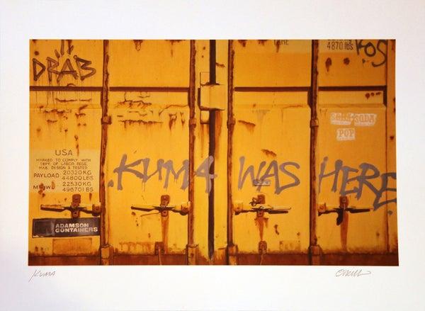 """Image of """"KUMA"""" PRINT BY JAMIE O'NEILL"""