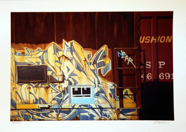 "Image of ""RUSTY"" PRINT BY JAMIE O'NEILL"