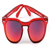 Image of Memento Audere Semper / Red Transparent + Red mirrored lenses Limited Edition