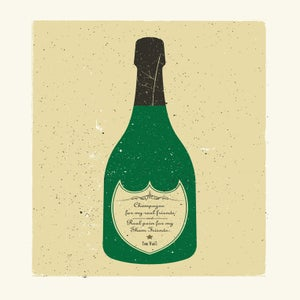 Image of Champagne for my real friends...