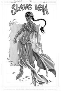 Image of Slave Leia from Star Wars