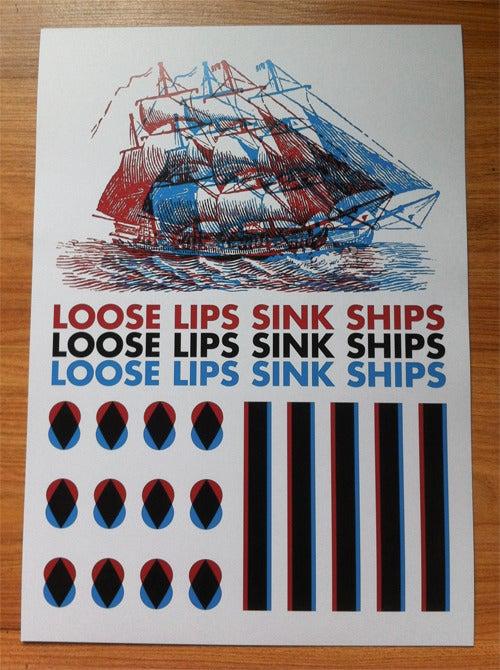 Image of Loose Lips Sink Ships