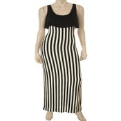 Image of Striped Form fitting Maxi dress