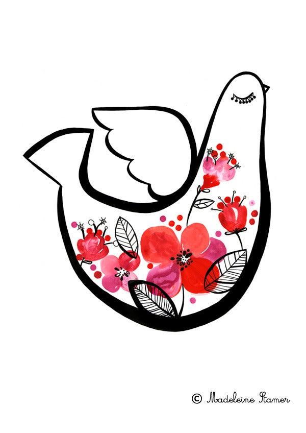 Image of Mechanics Of A Dove #1 PRINT
