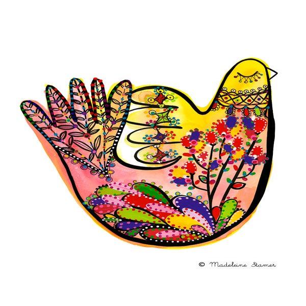 Image of Mechanics Of A Dove #2 Print