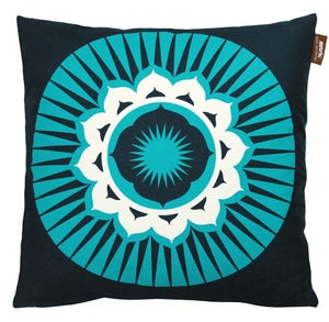 Image of Darjeeling Cushion - Indigo
