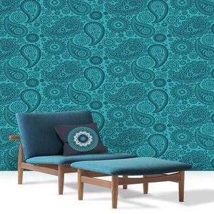 Image of Darjeeling Cushion - Indigo