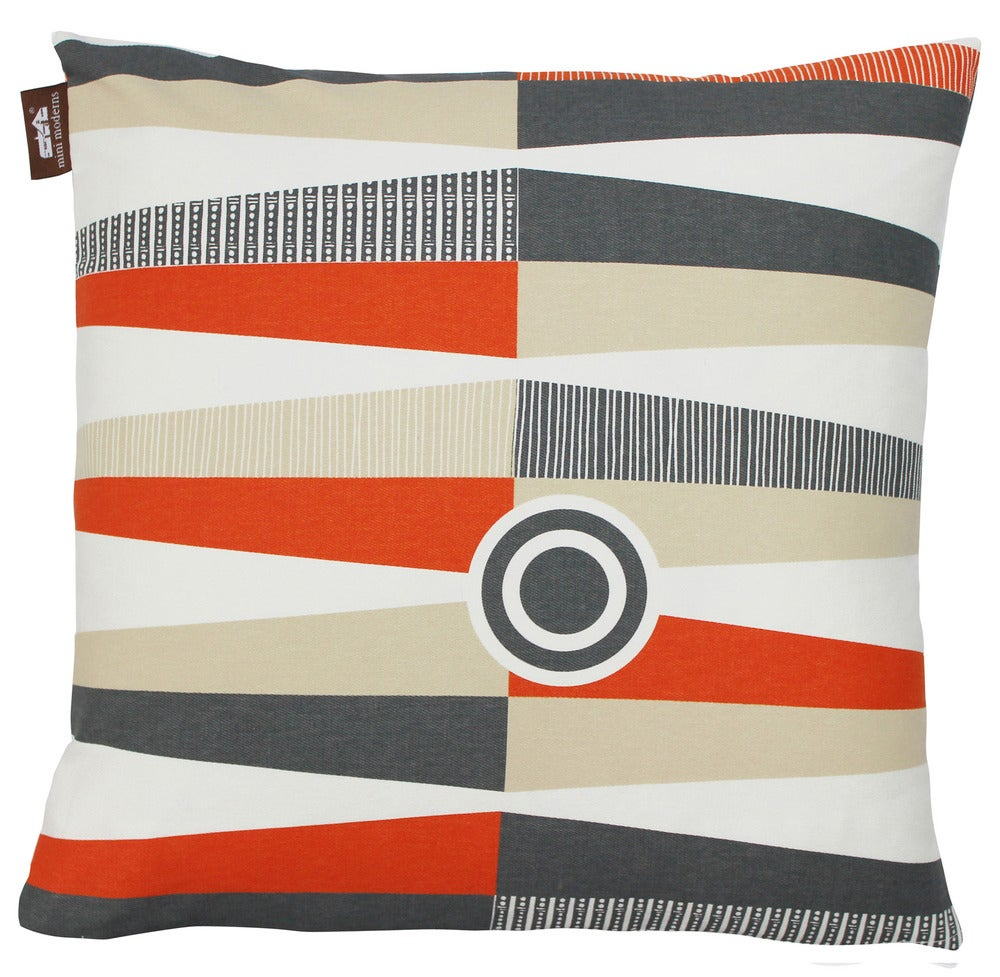 Image of Chouette Cushion - Tangerine Dream