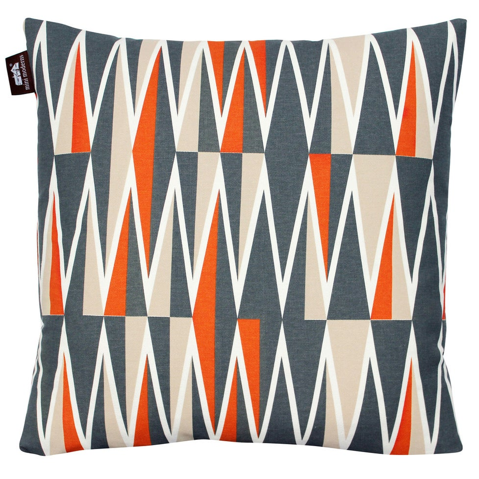 Image of Jacquet Cushion - Tangerine Dream