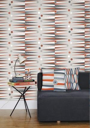 Image of Jacquet Cushion - Tangerine Dream