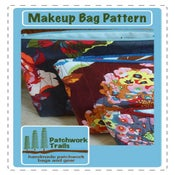 Image of Makeup Bag Sewing Pattern