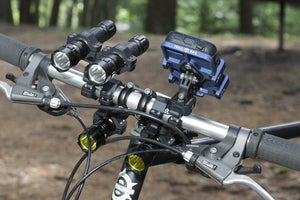 Image of DOUBLE LIGHT HANDLEBAR MOUNT SYSTEM