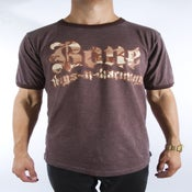 Image of Brown Bone HC Camo Tee